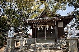 小牧神明社(松尾神社、金毘羅社) 約640m(徒歩8分)