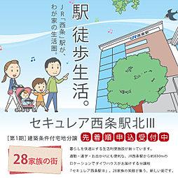 【ダイワハウス】セキュレア西条駅北III 第1期(建築条件付宅...