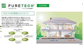 (2)【ピュアテック】エコナビ搭載換気システムHEPA+