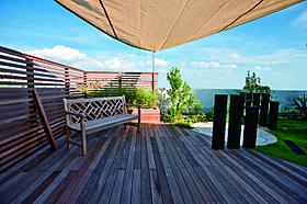 屋上庭園はお住まいになる方のライフスタイルで変化します