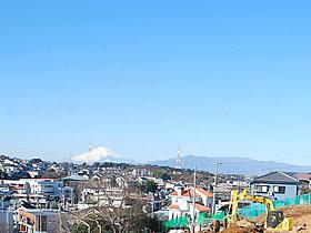 (造成時写真)空気の澄んだ日は雄大な富士山が望めます!