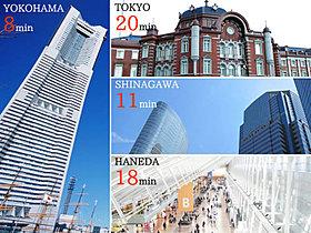 JR京浜東北線「鶴見駅」西口まで徒歩18分