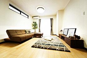 LDKは18.7帖 床暖房付き