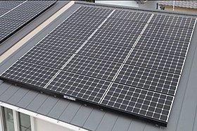 地球にも家計にもやさしい太陽光発電システム※施工例写真
