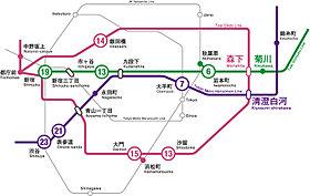3駅3路線利用可能。都心の主要スポットへ快適アクセス。
