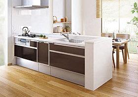 食器洗い乾燥機やお掃除もらくらくのシステムキッチン