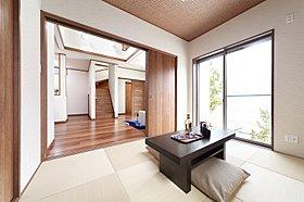 琉球畳を使った和室は客間にもぴったり!