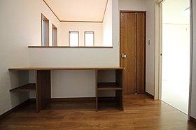 【モデルハウス写真】 2階カウンタースペース