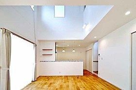 全50坪~60坪の程よい広さで自由設計にて建築できます