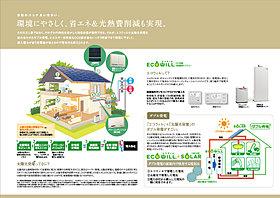 コージェネレーションシステムとソーラーによるダブル発電