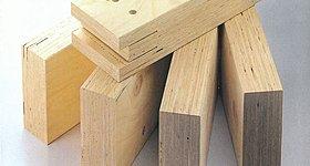 当社建物構造材のLVL