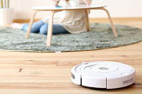 お掃除ロボット用コンセントを標準設置。