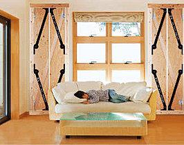GVAの制振装置を採用。地震に強い家で家族を守ります。