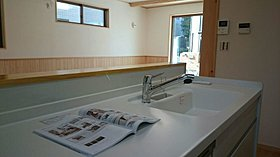 20畳以上の広々リビングでお子様の様子を見ながら家事も可能。