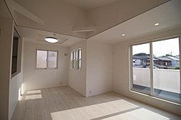 外観の色彩に加え、玄関アプローチ、門燈、窓回りなどに用いたアイ...