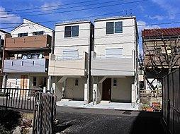 武蔵新城 南道路面の明るい新邸全2棟