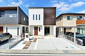 現在公開中モデルハウスの外観