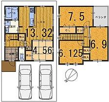 参考プラン図 4LDK 参考建物価格1609万円