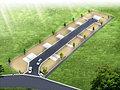 敷地はゆとりの33~40坪。前面5.5~6.5m道路。安心の高台・平坦地。