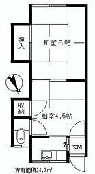 昭和島駅 4.5万円