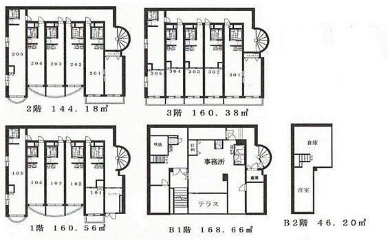マンション(建物全部)-板橋区若木1丁目 間取り