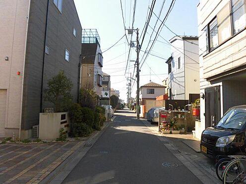 アパート-世田谷区玉堤1丁目 前面道路(西側)