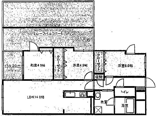 マンション(建物一部)-福岡市中央区薬院1丁目 間取り