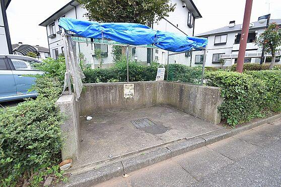 アパート-千葉市花見川区千種町 敷地内に入居者専用のゴミ置場あり。