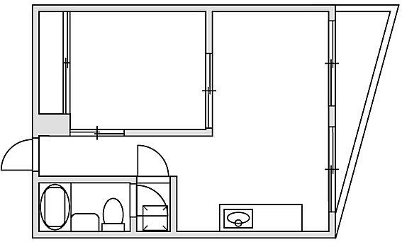 マンション(建物一部)-千葉市中央区新田町 間取り