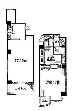 マンション(建物全部)-相模原市中央区相模原6丁目 間取り