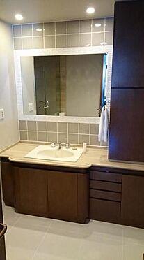 マンション(建物一部)-新宿区市谷左内町 洗面化粧台も大変綺麗です