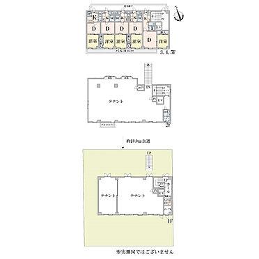 店舗付住宅(建物全部)-札幌市白石区川下二条4丁目 間取り