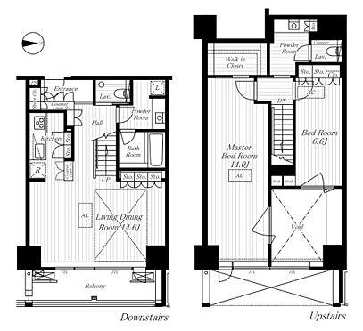 マンション(建物一部)-港区麻布十番2丁目 間取り