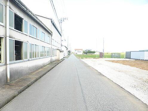 アパート-小松市白江町 前面道路