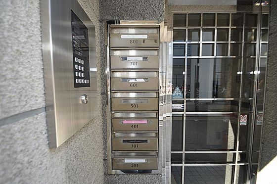 ビル(建物全部)-福岡市中央区渡辺通4丁目 シンプルで使い勝手の良い郵便ポスト