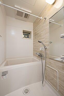 土地-板橋区稲荷台 賃貸1R施工例浴室写真