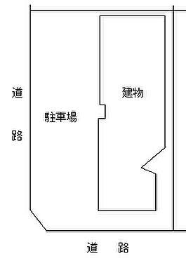 マンション(建物全部)-京都市下京区七条御所ノ内北町 敷地図