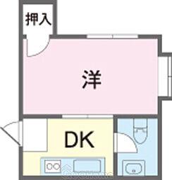 志真志ハイツ入口 2.3万円