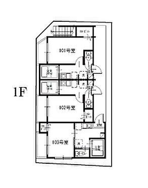 アパート-足立区梅田1丁目 1階間取図