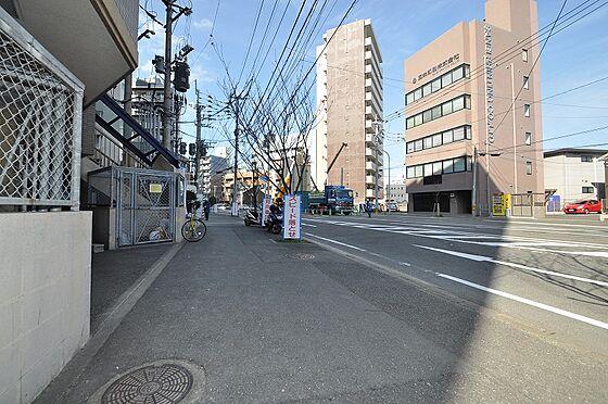 ビル(建物全部)-福岡市博多区千代2丁目 前面道路:幅員約25.04m・約13.85m接道