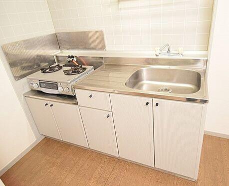 アパート-千葉市中央区寒川町3丁目 清潔感のある2口ガスコンロ付きのキッチン