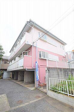 アパート-野田市山崎 ツートンカラーが目を惹く外観