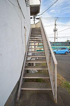 アパート-千葉市中央区都町3丁目 鉄部塗装も弊社にお任せください