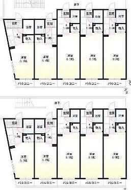 マンション(建物全部)-川崎市高津区下作延7丁目 間取り