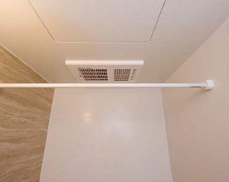 土地-板橋区稲荷台 賃貸1R施工例浴室乾燥機写真