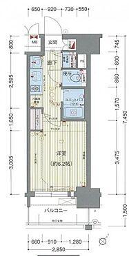 マンション(建物一部)-名古屋市西区名駅2丁目 間取り