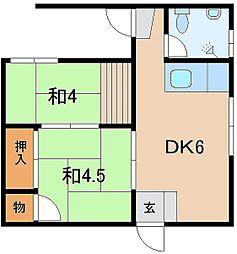 照屋バス停留所 2.5万円