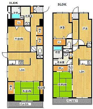 マンション(建物全部)-水戸市柳町1丁目 間取り