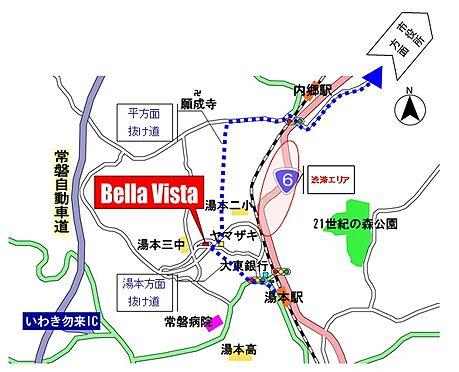 マンション(建物全部)-いわき市常磐湯本町山ノ神 平方面、湯本方面とも、渋滞の6号国道を使わずに通勤できます