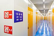 全102室のセキュリティ完備室内トランクルーム(2F)